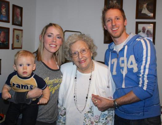 My Grandma meeting Ricky